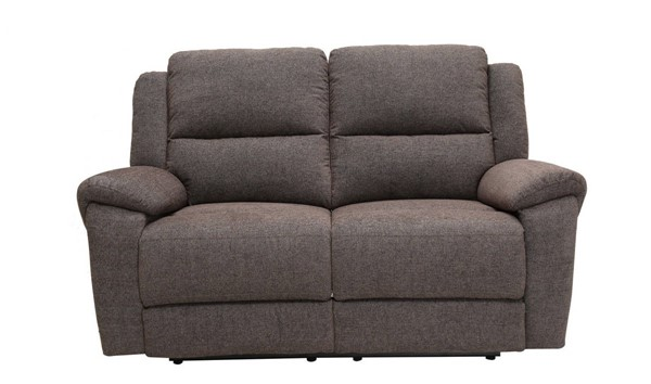 HomeRoots Modern Gray Fabric Power Reclining Loveseat OCN-329711