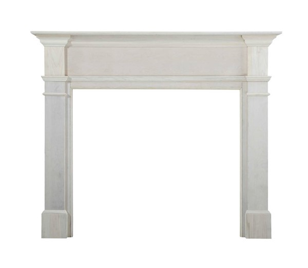 Homeroots Unfinished Wood 63.5 Inch Mantel Shelf OCN-332372
