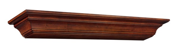 Homeroots Antique Wood 72 Inch Mantel Shelf OCN-332407