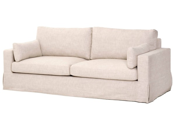 Orient Express Maxwell Bisque French 89 Inch Sofa OEF-6500-3-BIS