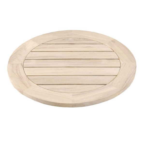 Orient Express Boca Gray Outdoor Lazy Susan OEF-6829-S-GT