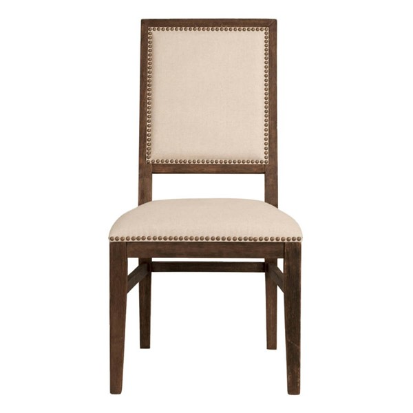2 Orient Express Dexter Rustic Java Natural Dining Chairs OEF-6017-RJAV