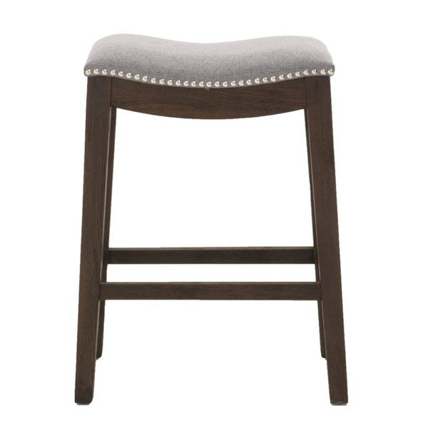 Orient Express Harper Rustic Java Earl Gray Counter Stool OEF-6415-CSUP-RJ-EGRY-SL