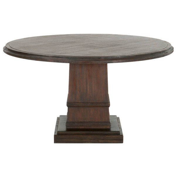Orient Express Hudson Rustic Java 54 Inch Round Dining Table OEF-6036-RJAV