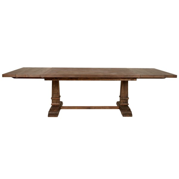Orient Express Hudson Rustic Java Extension Dining Tables OEF-6015-DT-VAR