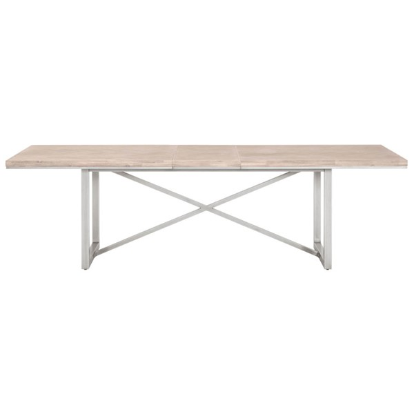 Orient Express Mosaic Gray Extension Dining Table OEF-6084-L-NG