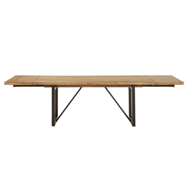 Orient Express Origin Timber Brown Extension Dining Table OEF-6106-TBRN