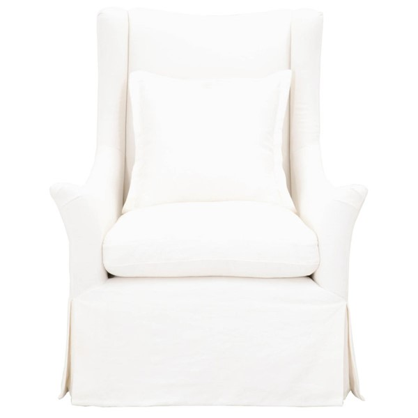 Orient Express Otto Slipcover Swivel Club Chair OEF-6651-CRCRP
