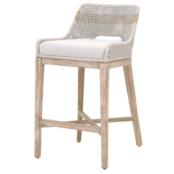Orient Express Tapestry Natural Gray Barstool OEF-6850BS-WTA-PUM-NG