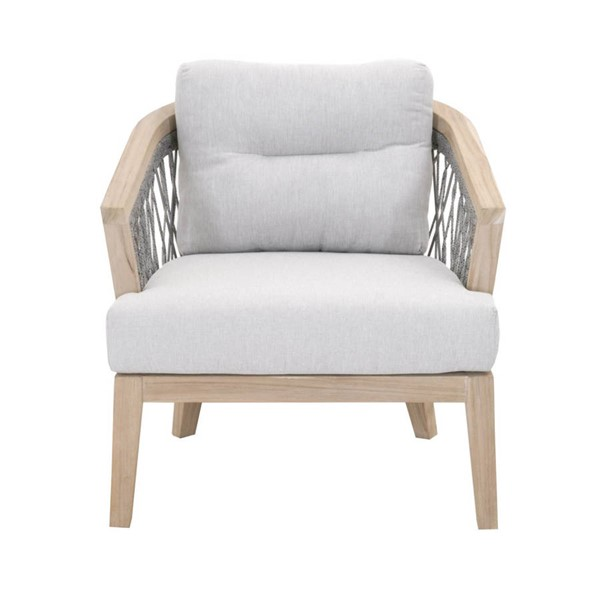 Orient Express Web Platinum Pumice Gray Outdoor Club Chair OEF-6821-PLA-PUM-GT
