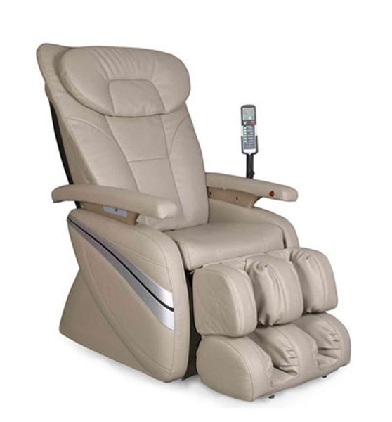 Cream Osaki Deluxe Massage Chair W/Kneading OS-1000C