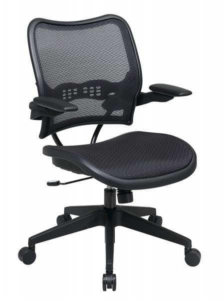 Traditional Deluxe AirGrid Seat & Back Chair W/Cantilever Arms OSP-13-77N1P3-OCH-VAR