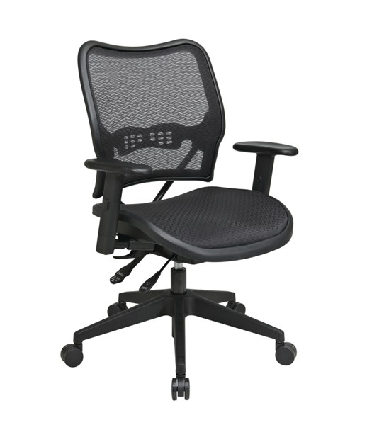 Contemporary Black AirGrid Seat & Back Deluxe Chair OSP-13-77N9WA