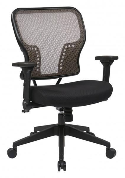 Latte Air Grid Back & Padded Mesh Seat Chair w/2-to-1 Synchro Control OSP-213-38N1F3