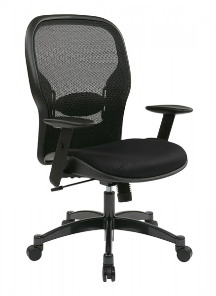Black Breathable Mesh Back & Fabric Seat Professional Chair OSP-2300