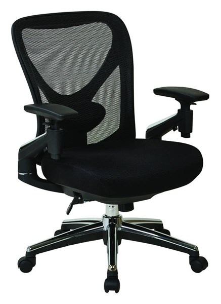 ProGrid Mesh Back Seat Pivoting Arms Height Adjustable Managers Chair OSP-27283