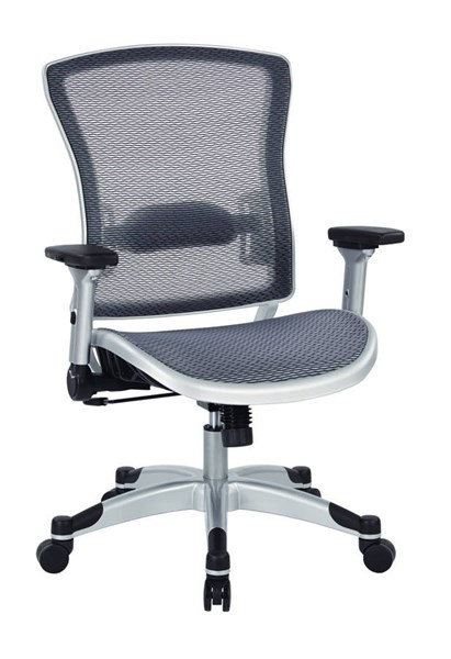 Platinum Fabric Metal Executive Breathable Mesh Back Chair OSP-317-66C61F6