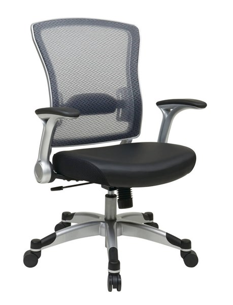317 Series Silver Fabric Metal Professional Light Airgrid Back Chair OSP-317-ME36C61F6