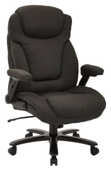 Big & Tall Deluxe High Back Fabric Padded Flip Arms Executive Chair OSP-39202-CH-VAR