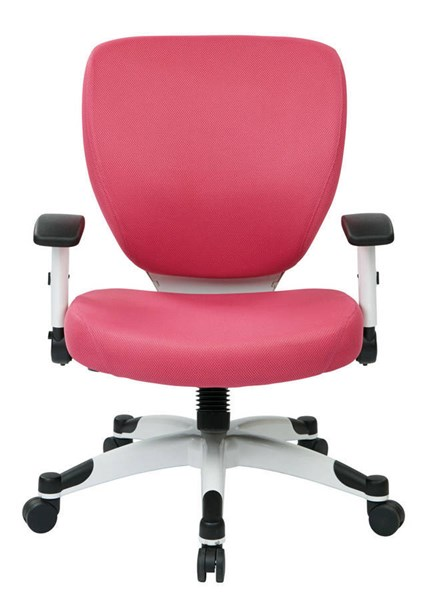 Pulsar Managers Chair w/Padded Mesh Seat & Back in Pink OSP-5200W-261