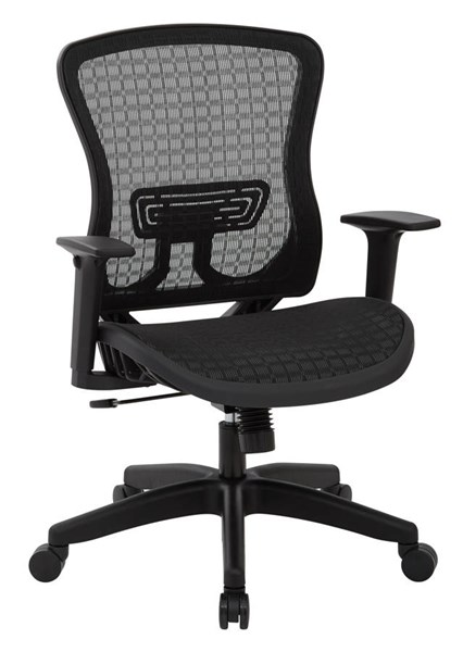 CHX Dark Breathable Mesh Seat & Back Managers Chair OSP-525-G33N11