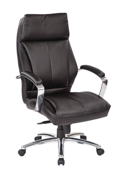 Deluxe Traditional High Back Executive Black Bonded Leather Chair OSP-60310