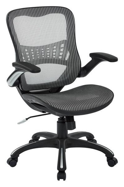 Ventilated Seating Metal Mesh Seat & Back Manager Chair OSP-69906-CH-VAR