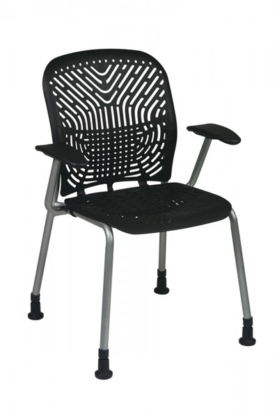 2 Deluxe SpaceFlex Seat & Back Visitors Chairs OSP-801-CH-VAR1