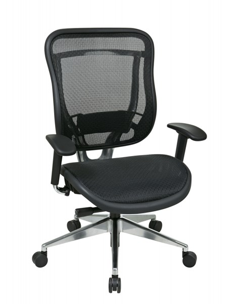 Black High Back Breathable Mesh Back & Seat Executive Chair OSP-818A-11P9C1A8