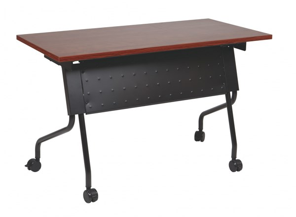 Training Standard Black Cherry Titanium Table OSP-8422-TBL-VAR