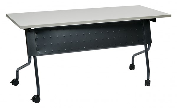 5 Ft. Training Table Titanium Frame & Grey Top OSP-84225TG