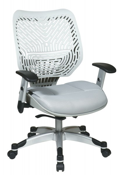 White Unique Self Adjusting Ice SpaceFlex Back Managers Chair OSP-86-M22C625R