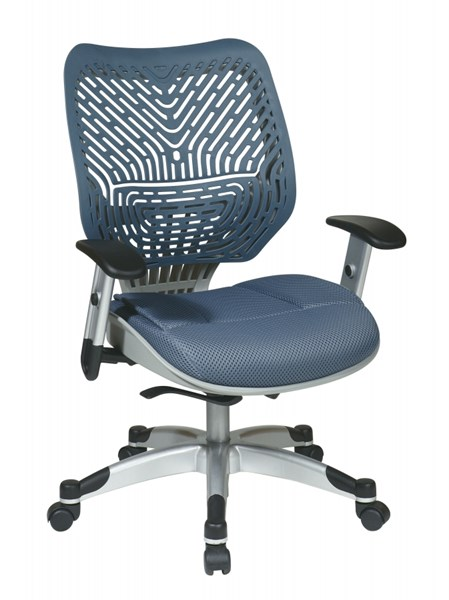 Blue Mist Unique Self Adjusting SpaceFlex Back Managers Chair OSP-86-M77C625R