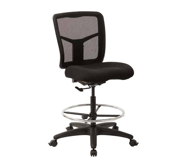 ProGrid Mesh Coal FreeFlex Fabric Adjustable Footring Drafting Chair OSP-92583-30