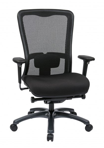 Black ProGrid High Back Chair Freeflex Seat OSP-97720-30