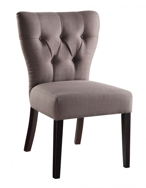 Andrew Cherry Fabric Tufted Back Armless Chairs OSP-AND-K12-14-VAR