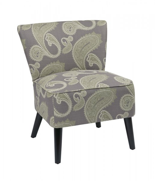 Apollo Contemporary Grey Yellow Fabric Wood Chairs OSP-APL-S21-S38-VAR