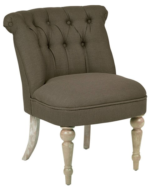 Aubrey Tufted Side Chair With Fabric & Brushed Legs OSP-AUB-K12-CH-VAR