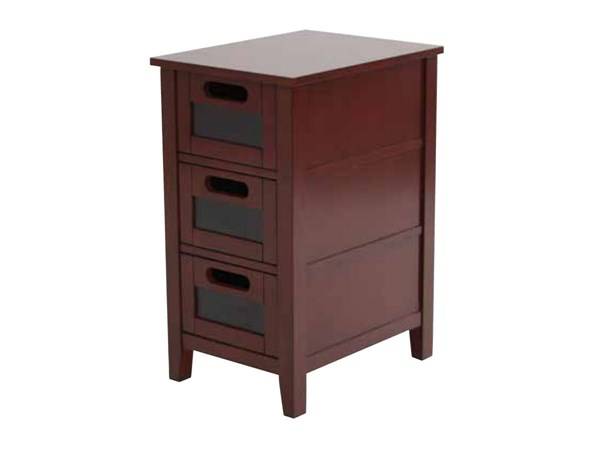 Avery Chalkboard Vintage Wine Finish Solid Wood Chair Side Table OSP-AVR08AS-AC12