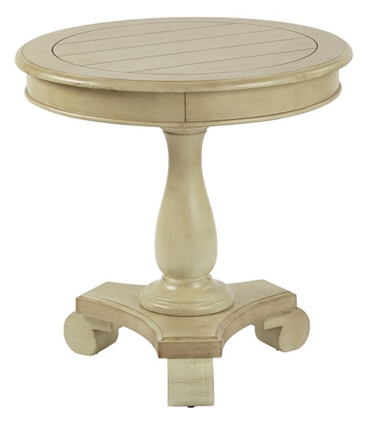 Avalon Traditional Antique Celedon Wood Round Accent Table OSP-BP-AVLAT-YM20
