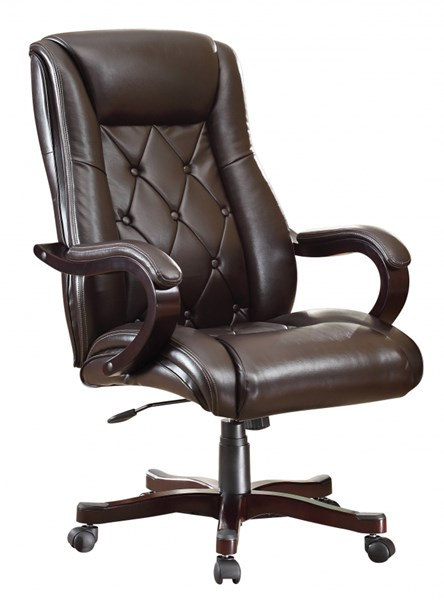 Chapman Traditional Espresso Bonded Leather Executive Chair OSP-BP-CHTX-EC9