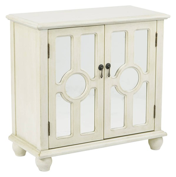 Kendra Contemporary Beige Wood Storage Console OSP-BP-KENCSL-DH4