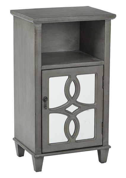 Medina Contemporary Taupe Wood Accent Table OSP-BP-MED11-FR2