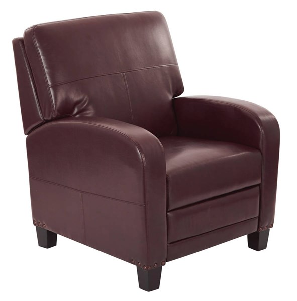 Wellington Bonded Leather Recliner OSP-BP-WLRC-BD-REC-VAR