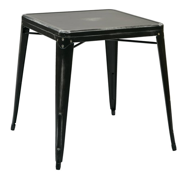 Bristow Modern Antique Black Antique Metal Table OSP-BRW432-AB