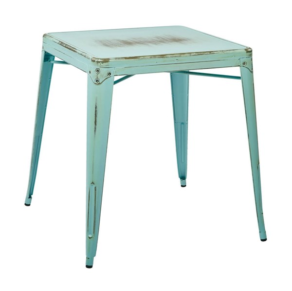 Bristow Modern Antique Sky Blue Antique Metal Table OSP-BRW432-ASB