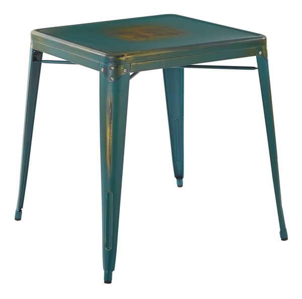 Bristow Contemporary Blue Metal Table OSP-BRW432-ATQ