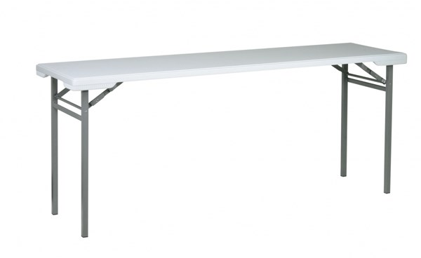 Resin Light Gray Metal Training Multi Purpose Table OSP-BT22