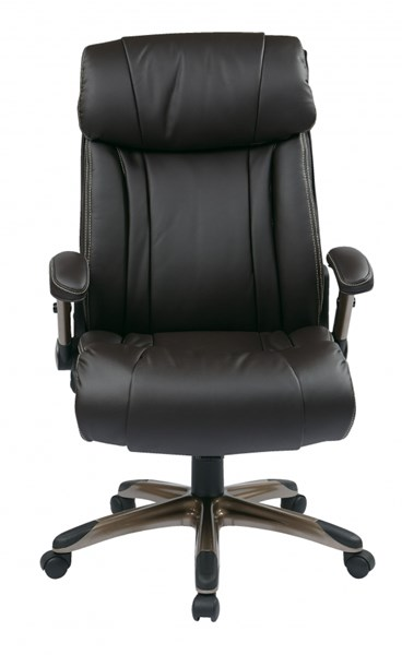 ECH Series Cocoa Espresso Bonded Leather Executive Chairs OSP-ECH386-CH-VAR