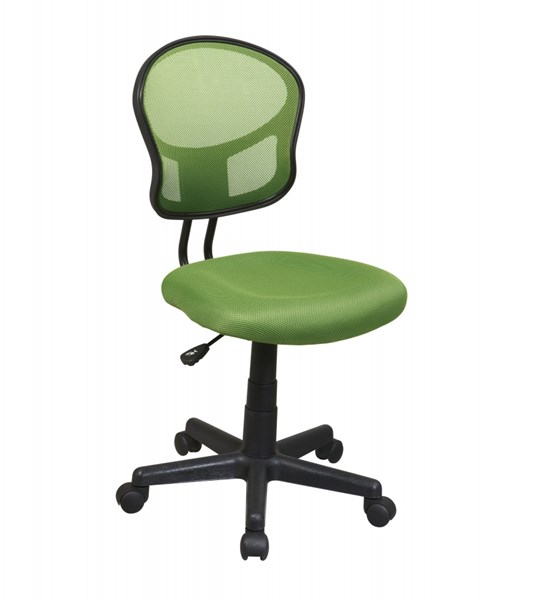 EM Series Modern Green Mesh Fabric Pneumatic Seat Task Chair OSP-EM39800-6
